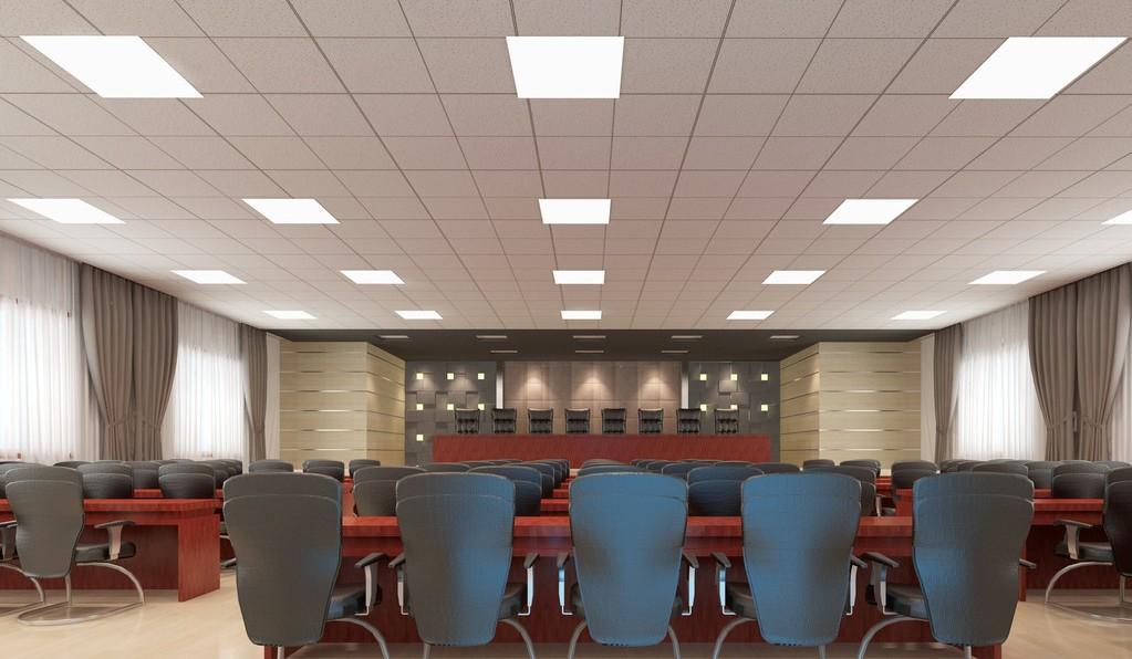 LED Bürobeleuchtung Panels 2