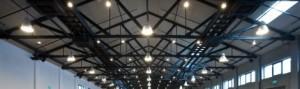 Beleuchtung für Industrie, Handel und Gewerbe und öffentliche Gebäude